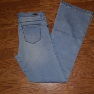 KUT from the Kloth Chrissy Flare jeans size 14 L